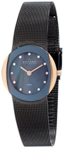 Skagen Women's 589SRM Brown Mesh Watch