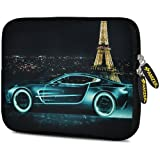Amzer 7.75 Inch Neoprene Sleeve Racer Accent For Samsung GALAXY Tab 2 7.0, Google Nexus 7, Amazon Kindle Fire...