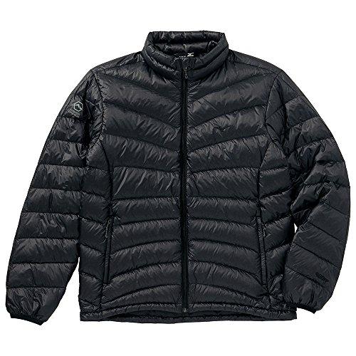 (ミズノ)Mizuno ブレスサーモダウンリフレクションギア スーパーライトウエイトジャケット [MEN'S] A2GE4541 09 ブラック L
