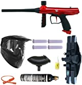 Tippmann GRYPHON Paintball Gun 4+1 9oz 3Skull Mega - Red