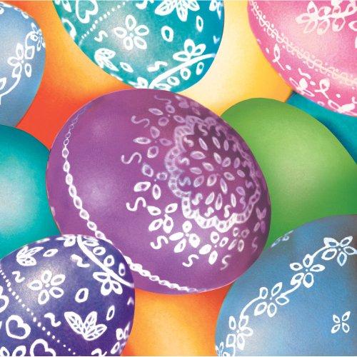 Decorative Eggs Beverage Napkins