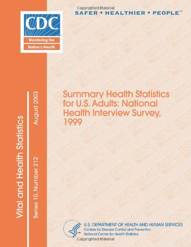 Vital and Health Statistics Series 10, Number 212: Summary Health Statistics for U.S. Adults: National Health Interview