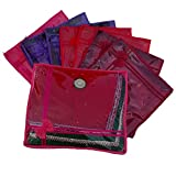 Indi Bargain Non Woven Designer Saree Cover Set of 8