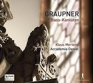 Christoph Graupner: 3 Bass-Kantaten