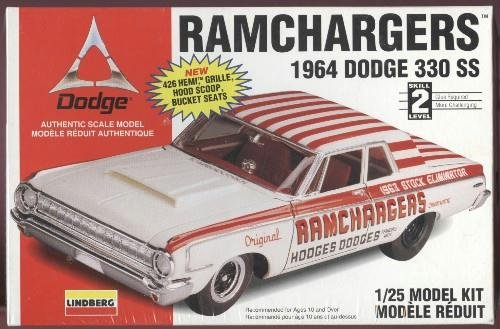 1964 Dodge 330 Ss Ramchargers 1/25