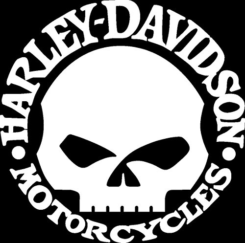 Willie G Skull Harley Davidson Window Decal (G Window Decal compare prices)