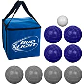 Trademark Global Bocce Ball Set With Carrying Case - 5 Styles To Choose From - B00HUE9TII
