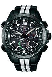 Seiko Mens ASTRON Giugiaro Limited Edition Dual Strap Watch, SSE037