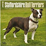 BrownTrout Staffordshire Bull Terriers 2014 Wall
