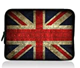 Flag design New Hot Waterproof Netbook Laptop soft Sleeve Bag Pouch cover case For 13