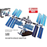 Daron 4D Vision International Space Station, 60-Piece, 1/450 Scale