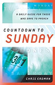 "Cover of ""Countdown to Sunday: A Daily Gu..."