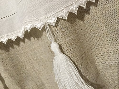Coppia tendine tende marsiglia country shabby chic for Tende shabby chic on line
