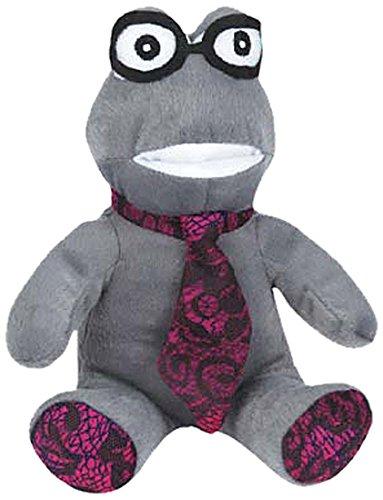 Grriggles Heritage Frog Toy, Grey - 1