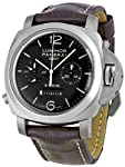 Panerai Men's M00311 Luminor 1950 8 Days Chrono Monopulsante GMT Titani Chronograph Watch from Panerai