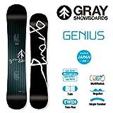 16-17 GRAY SNOWBOARD グレイ スノーボード GENIUS ジーニアス (140)