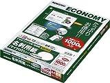 KOKUYO マルチプリンタ用名刺用紙(マイクロミシン)(両面普通紙) A4 100枚 ナチュラルホワイト KPC-VE15W