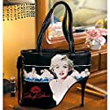 Black Marilyn Monroe Portrait High Heel Purse