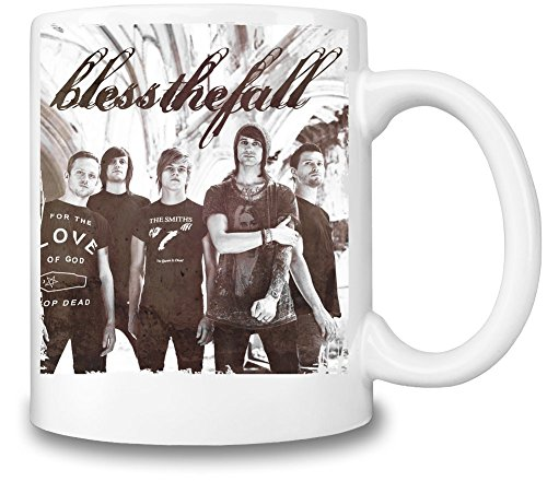 Blessthefall Band Tazza Coffee Mug Ceramic Coffee Tea Beverage Kitchen Mugs By Genuine Fan Merchandise