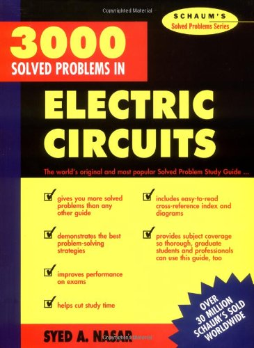 3,000 Solved Problems in Electrical Circuits from McGraw-Hill