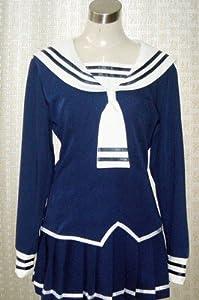 Fruits Basket Tohru Honda Cosplay Navy Costume School Uniform size M
