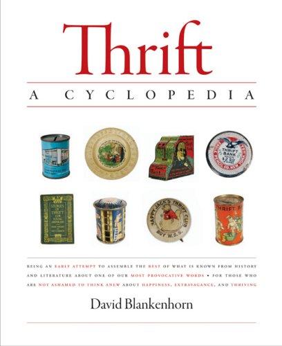 Thrift: A Cyclopedia, DAVID BLANKENHORN
