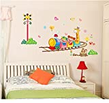 Decals Arts Animal Traffic Nursery Decor PVC Wall Sticker