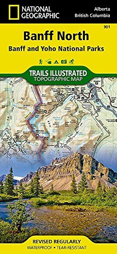 Banff North [Banff and Yoho National Parks] (National Geographic Trails Illustrated Map) by National Geographic Maps - Trails Illustrated (2014-11-03)