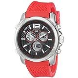 U.S. Polo Assn. Sport Men's US9514 Analog-Digital Display Analog Quartz Red Watch
