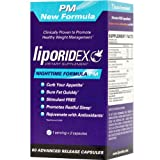Liporidex PM – Stimulant Free Thermogenic Weight Loss Formula Supplement Fat Burner & Appetite Suppressant – The easy way to lose weight while you sleep fast! – 60 diet pills – 1 Box.