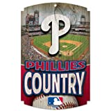 MLB Philadelphia Phillies Wood Signs