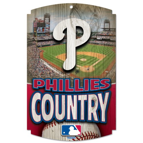 MLB Philadelphia Phillies Wood Signs at Amazon.com