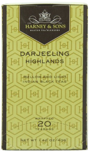Harney And Sons Premium Tea Bags, Darjeeling, 20 Count