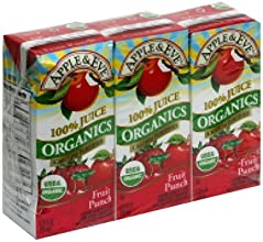 Apple amp Eve Organics Fruit Punch Juice Box 675 Oz 3 Pack Pack of 9