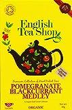 English Tea Shop Organic Pomegranate Blackcurrant Medley Super Teas (Pack of 3, Total 60 Tea Bags)