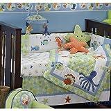 Bubbles 6-Piece Baby Crib Bedding Set