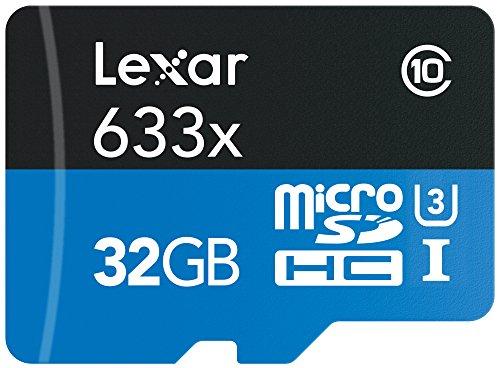 Why Should You Buy Lexar High-Performance MicroSDHC 633x 32GB UHS-I/U3 (Up to 95MB/s Read) w/USB 3.0...
