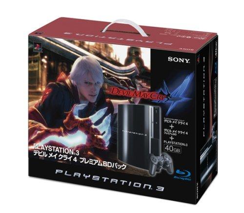 PLAYSTATION 3(40GB) デビル メイ クライ 4 プレミアムBDパック クリアブラック