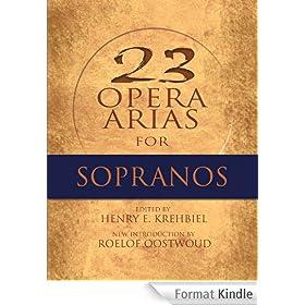Twenty-Three Opera Arias for Sopranos