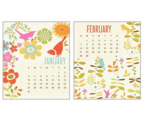 Gina B 2016 CD Case Desk Calendar-Art by Gina Martin, turquoise, blue ...
