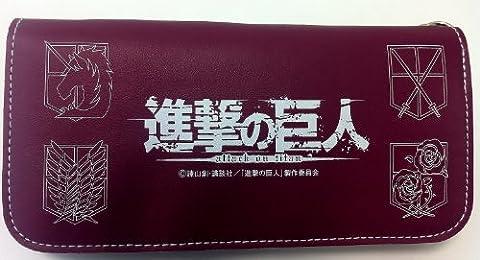 進撃の巨人 チェーン付ロングウォレット ~ミカサ~ 長財布