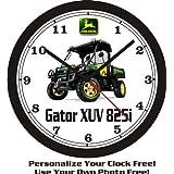 2013 John Deere Gator XUV 825i Wall Clock-Free USA Ship! by Muscle Car Memories