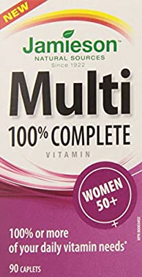 Jamieson Laboratories Multi 100 Percent Complete Women 50+,90 Count