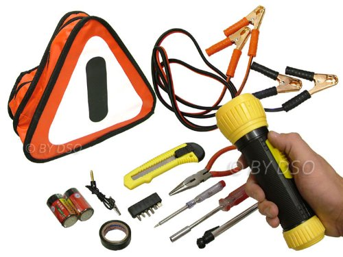 Tool-Tech Automotive 30 piece Roadside Emergency Kit Bag BML22200