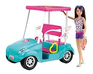 Barbie Sisters Golf Cart and Skipper Doll Set