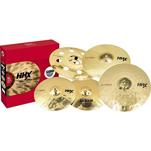 SABIAN-HHX-EVOLUTION-PERFORMANCE-FREE-18-CRASH-Cymbals-Cymbal-value-packs