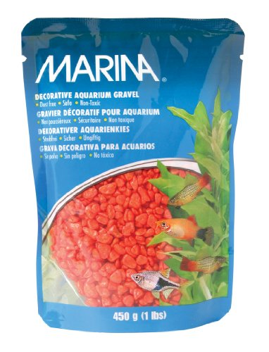 Marina Decorative Gravel, 1-Pound, Orange