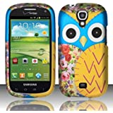[Extra-Terrestrial]For Samsung Stratosphere 2 i415 (Verizon) Rubberized Design Cover - Owl 2 Design
