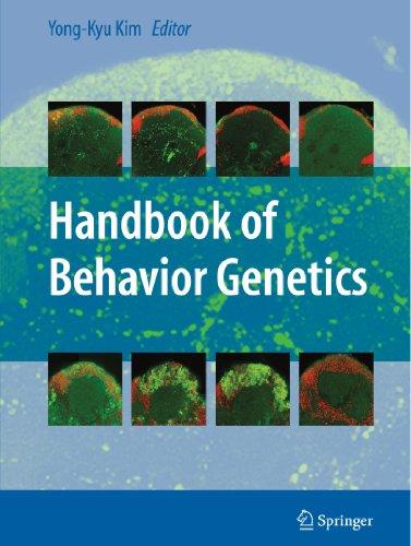 Handbook Of Behavior Genetics