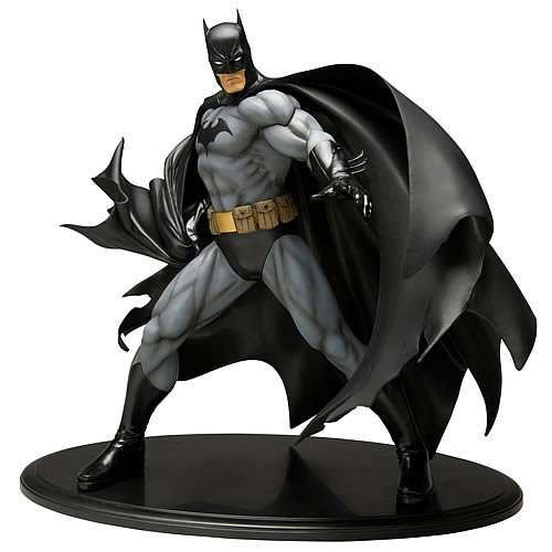 Kotobukiya Batman ArtFX Statue (Black Costume Version) at Gotham City Store